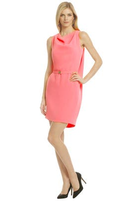 Diane von Furstenberg - Splash Of Coral Sheath