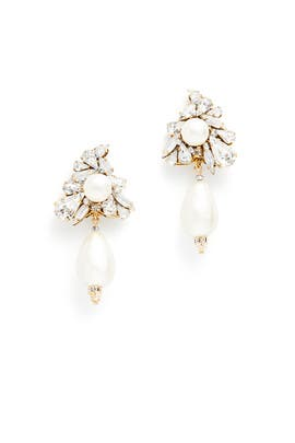 Royal Arrangement Earrings by Erickson Beamon