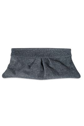 Lauren Merkin - Grey Eve Glitter Clutch