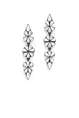 Midnight Drama Drop Earrings by Slate & Willow Accessories