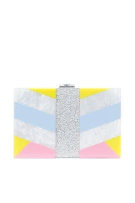 Geo Box Clutch by Milly Handbags