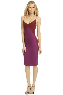 Narciso Rodriguez - Bonded Berry Dress