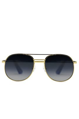 Gold Watts Sunglasses by Elizabeth and James Accessories
