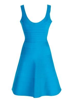 Hervé Léger - Turquoise Eva Dress