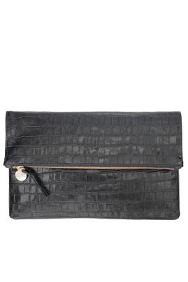 Ink Supreme Foldover Clutch by Clare V.