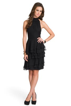 Christian Siriano - Ruffled Sophisticate Halter Dress