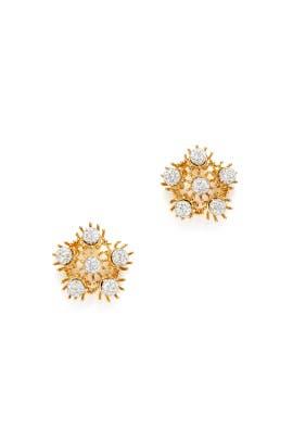 Dandelion Earring by Lele Sadoughi