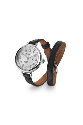 Black Birdy Watch by Shinola