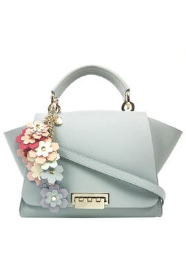 Grey Eartha Iconic Backpack by ZAC Zac Posen Handbags