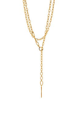 Rowan Threading Lariat by Gorjana Accessories