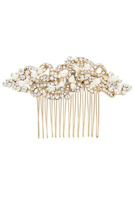 Pearl Twist Large Comb by RTR Bridal Accessories