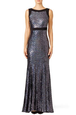 Plum Shine Gown by Badgley Mischka