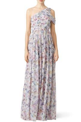 Petal Pusher Gown