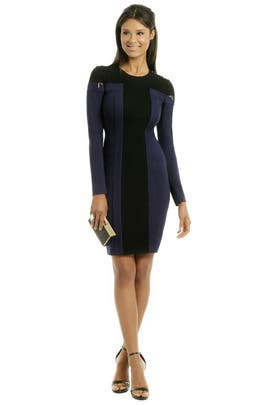 Cut Sleeve Dress by Rachel Roy