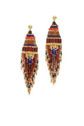 Bo Ulla O Earrings by Gas Bijoux