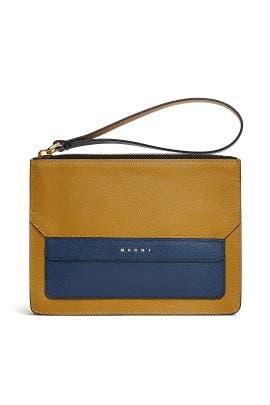 Olive Pochette Bag by Marni Accessories