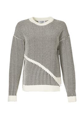 Mixed Stitch Sweater by Opening Ceremony