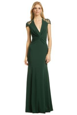 Reem Acra - Jade Serenity Gown