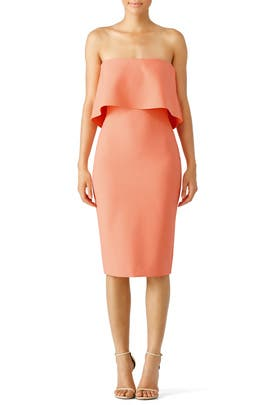 LIKELY - Apricot Driggs Dress