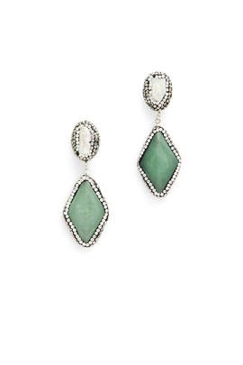 Jade Babette Drop Earrings by Elise M.