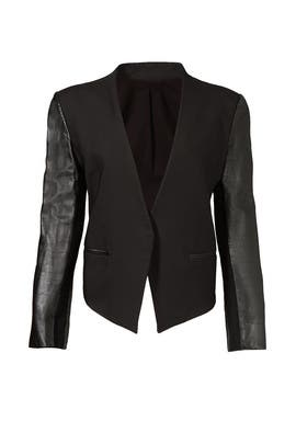 Smoking Wool Tuxedo Blazer by Helmut Lang