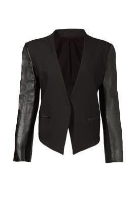 Helmut Lang - Smoking Wool Tuxedo Blazer