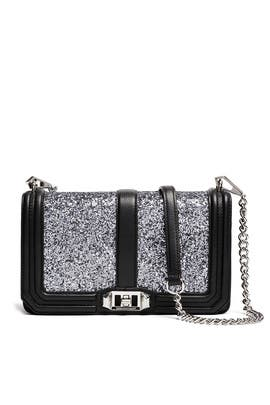 Glitter Love Crossbody Bag by Rebecca Minkoff Handbags
