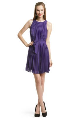 Halston Heritage - Pleat Perfection Dress