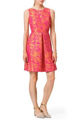 Citrus Sorbet Dress by ML Monique Lhuillier