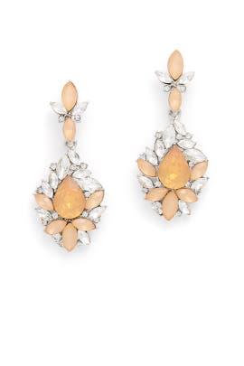 Orange Spark Dangling Earrings by Slate & Willow Accessories