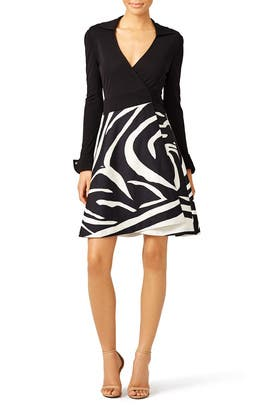 Amelianna Wrap Dress by Diane von Furstenberg