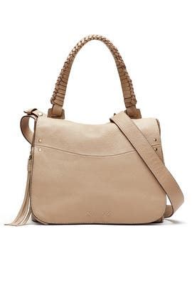 Trapeze Satchel by Elizabeth and James Accessories