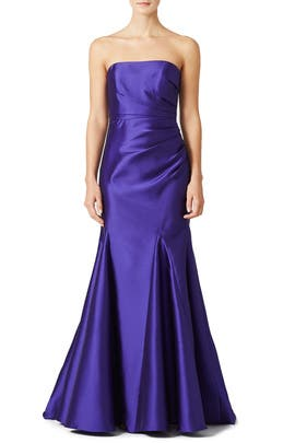 Amethyst Mikado Gown by Badgley Mischka