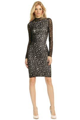 Diane von Furstenberg - Pebble Illusion Dress