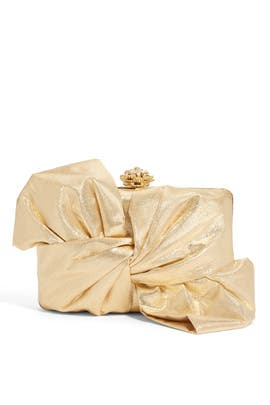Franchi - Gold Laurel Clutch