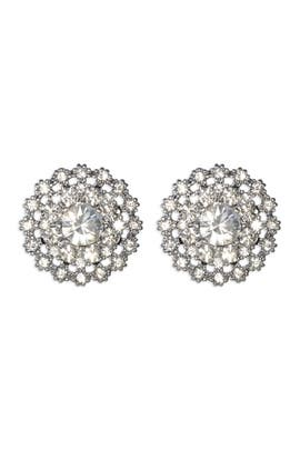 Juliet & Company - Silver Lilliana Earrings