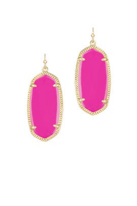 Magenta Danielle Earrings by Kendra Scott