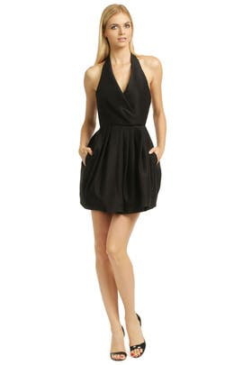Call The Kettle Black Dress by Halston Heritage