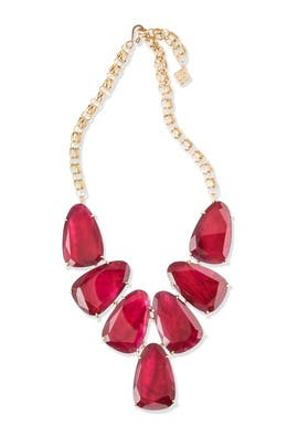 Burgundy Harlow Necklace by Kendra Scott