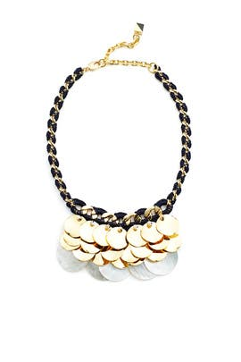 Gold Mina Necklace by Nocturne