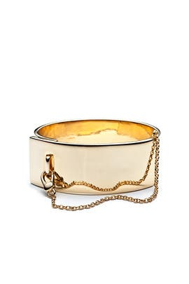 Safety Chain Cuff by Eddie Borgo