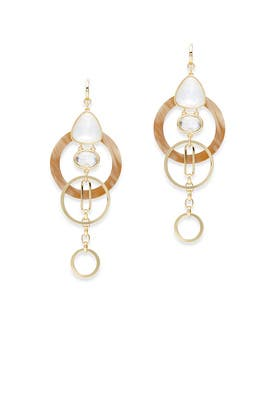 Sun-Kissed Sparkle Statement Earrings by kate spade new york accessories