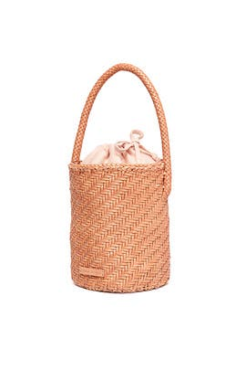 Cleo Woven Bucket Bag by Loeffler Randall