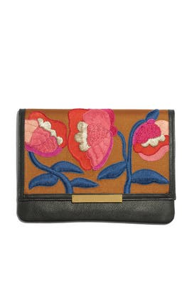 Blossom Port of Call Clutch by Lizzie Fortunato