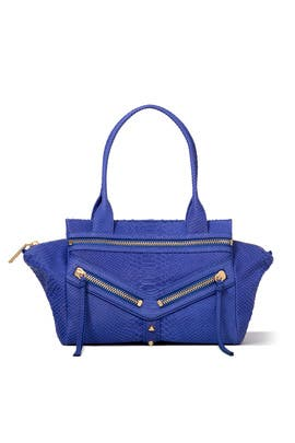 Cobalt Trigger Small Satchel by Botkier