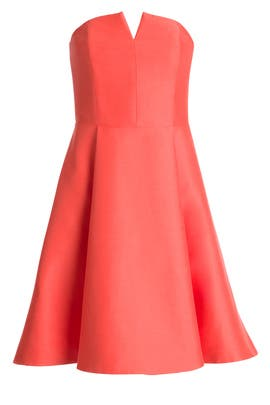 Halston Heritage - Watermelon Dress