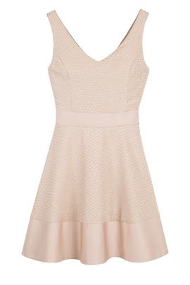 nha khanh - Blush Circle Dress