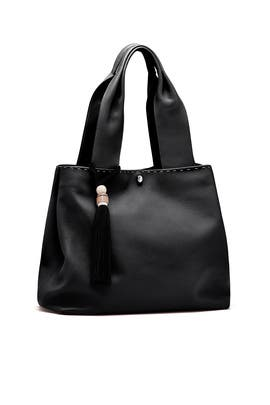 Black Teddy Tote by Elizabeth and James Accessories