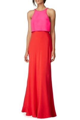 Lovely Duo Gown by Jill Jill Stuart