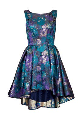 Slate & Willow - Floral Rendering Dress